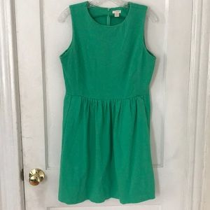 J Crew Factory • cotton dress with pockets